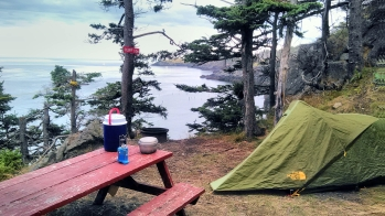 Hole-in-the-Wall Park and Campground, Grand Manan, New Brunswick, Canada